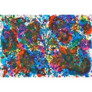 Fresh air school exhibition portfolio includes three loose lithographs in color by sam francis american 19231994 joan mitchell american 19251992 and walasse ting chinese 19292010 for the