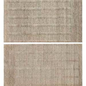 David shaw nicholls woven area rugs two badoura and one badoura reverse superfine knotted flatweave wool all marked cut pile each 36 x 60 bedoura reverse 24 x 24