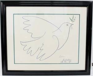 After Picasso Dove of Peace Lithograph