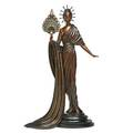 Erte russianfrench 18921990 aphrodite polychrome bronze 1986 signed numbered 95375 and dated 18 14