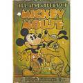 Walt disney autograph in pencil on the adeventures of mickey mouse book number 3 ca 1940 7 34 x 5 12