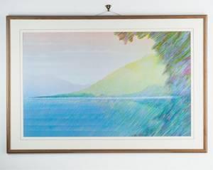 A Pastel Landscape Print