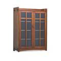 Limbert doubledoor bookcase grand rapids mi ca 1912 branded 50 x 38 12 x 14 12
