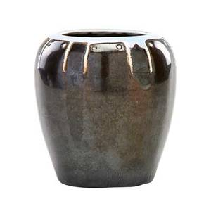 Frederick h rhead 1880  1942 rhead santa barbara small vase with stylized design santa barbara ca 191417 chop mark 4 x 3 34