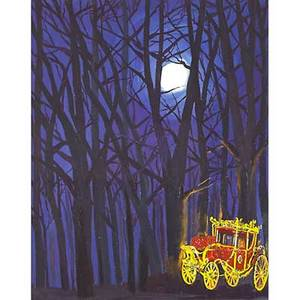 Karen kilimnik american b1955 the royal little red riding hood 2007 lithograph in colors with handapplied glitter framed from an edition of 200 15 38 x 12 18 sight publisher serpen