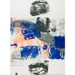 Robert rauschenberg american 19252008 still from reels bonnie and clyde 1968 lithograph in colors framed signed dated and numbered 234 30 x 22 sheet publisher gemini gel los a