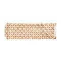 Retro rose gold link bracelet