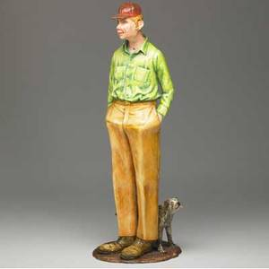 Jack earl figural ceramic sculpture ohio 1981 provenance theo portnoy gallery signed titled and dated 26