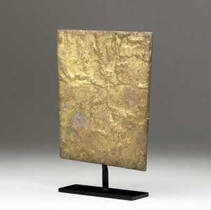 Harry bertoia american 19151978 untitled gilded bronze sculpture on stand ca 1954 provenance american primitive gallery 10 34 x 7 12 x 2 14 including base