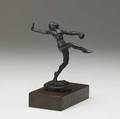 Wilhlem hunt diederich hungarianamerican 18841953 untitled bronze sculpture dancer signed hunt diederich 4 12 5 12 with base