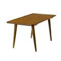 Hans wegner teak traytop occasional table 20 12 x 43 12 x 21 12