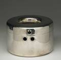 Lino sabattini silverplated brass wine cooler stamped sabattini made in italy 6 34 x 10 14