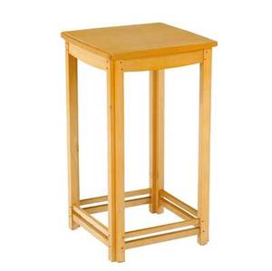Hank gilpin side table in holly with contrasting wooden pin construction 25 12 x 14 14 x 14 12