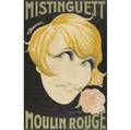 Charles gesmar french 19001928 mistinguett moulin rouge poster framed 1926 printer chachoin paris provenance peter joseph collection new york 46 34 x 30 sight