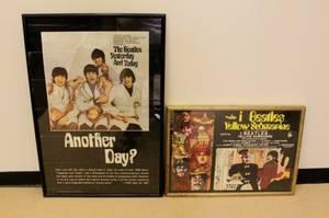 Two Vintage Beatles Posters