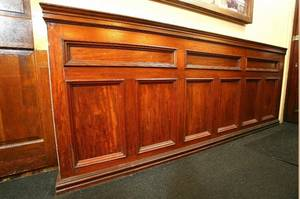 Wainscoting from Barclays Bank