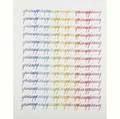 Abstract four works of art after frank stella american b 1936 referendum 70 offset lithograph framed 1970 40 x 40 sight largest yrisany 20th c untitled lithograph in colors fra