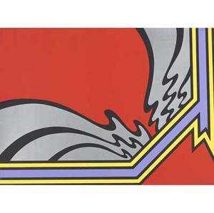 Nicholas krushenick american 19291999 untitled screenprint 1973 provenance private collection new york signed dated and numbered 8190 30 x 22 sheet