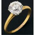 Fine antique diamond solitaire old oec diamond 193 cts by formula in a six prong platinumtopped gold setting this style of setting was introduced by charles l tiffany in 1886 unmarked