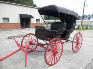 Blount Carriage  Buggy Co Carriage