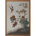 19th c chinese export reverse paintings on mirror glass depicting traditional scenes larger 16 x 22