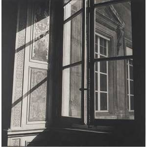 Bruce cratsley american 19441998 louvre window paris 1980 gelatin silver print printed ca 1980 signed dated and titled 9 12 x 9 12 sheet
