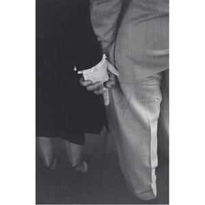 Louis faurer american 19162001 freudian handclasp new york city 1948 gelatin silver print printed 1980 signed dated and titled 14 x 11 sheet
