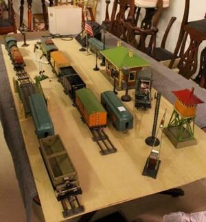 All Standard Gauge Trains with Station