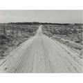 Dorothea lange american 18951965 road leading to small farm in northern oregon irrison morrow county oregon october 1939 gelatin silver print printed ca 1939 titled and dated with farm se