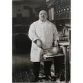 August sander german 18761964 pastry cook 1928 oversized gelatin silver print printed ca 1980 by gunther sander with aug sander lindenthal koln blindstamp 16 12 x 12 sheet