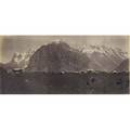 Adolphe braun french 18121877 panorama from murreu ca 1860s albumen print titled 8 34 x 19 sheet