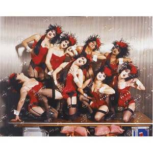 Roe ethridge american b 1969 fisherspooner dancers 2001 cprint signed and numbered 312 11 x 14 sheet provenance private collection san francisco