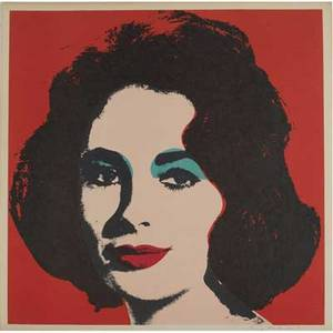 Andy warhol american 19281987 liz 1964 offset lithograph in colors from the approximate edition of 300 signed and dated in pen andy warhol 67 22 x 22 image 23 18 x 23 18 sheet p