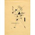 Wassily kandinsky russian 18661944 untitled 1925 lithograph framed signed dated and numbered 850 20 x 15 sight provenance private collection princeton