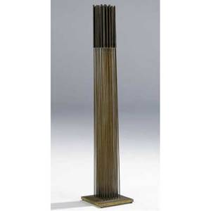 Harry bertoia american 19151978 sonambient beryllium copper and brass 40 high including base provenance the artist allentown art museum pennsylvania aquired 1976 private collection pe