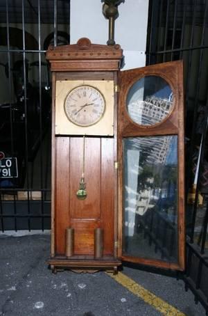 Oak Cased Clock
