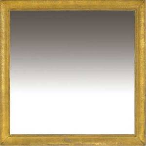 James mont large wallhung mirror with gilded bead and cove frame james mont fabric label 55 12 sq
