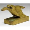 Wharton esherick bronze sculpture horse race 1926 provenance gift from artist to present owner ca 1941 engraved we xxvi 4 x 7 x 2 12