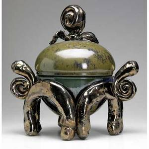 Jerry rothman lidded earthenware sculptural tureen provenance collection of hope and jay yampol 17 12 x 16 12