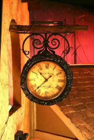 Ornate Gillet  Co London Street Clock