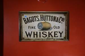 Bagots Whiskey Sign