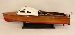 Model Boat with Steam engine