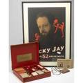 Vintage magicians kit vintage poster autographed by magician ricky jay together with two of his magic kits
