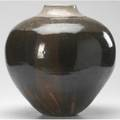 Paul chaleff massive glazed ceramic vase 1980 provenance collection of derek mason and daniel jacobs virginia signed and dated 15 12 x 15