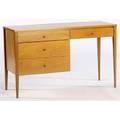 Paul mccobb single pedestal desk with planner group foil tag 29 x 48 x 18 14