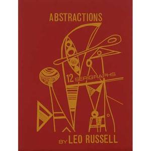 Leo s russell american b 1917 two works of art abstractions 1970 portfolio of 12 serigraphs each signed and numbered 21250 publisherprinter the flemington studio of the arts new jersey