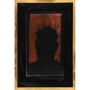 Richard hambleton american b 1954 two works of art untitled acrylic on paper framed signed 20 14 x 12 58 sheet untitled acrylic on paper framed signed 20 12 x 12 12 sheet