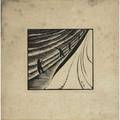 Wharton esherick woodblock print surf fishing 1927 initialed and dated within image signed in pencil wharton esherick titled and numbered 47 image 7 12 x 8