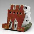 Mary jo bole earthenware sculpture untitled 1983 provenance the derek mason and daniel jacobs collection 14 12 x 14 x 20