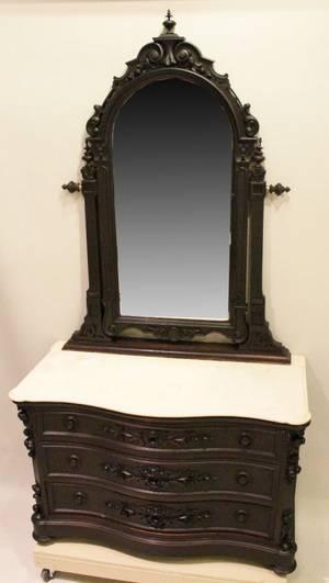 Victorian Rosewood Dresser